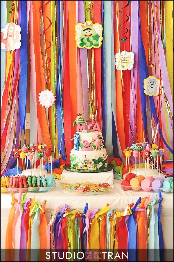 Mia's Yo Gabba Gabba Birthday Party