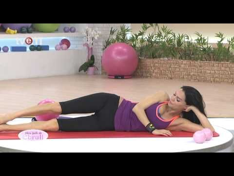 Ebru Şallı İle Pilates Egzersizleri 16.Bölüm - YouTube