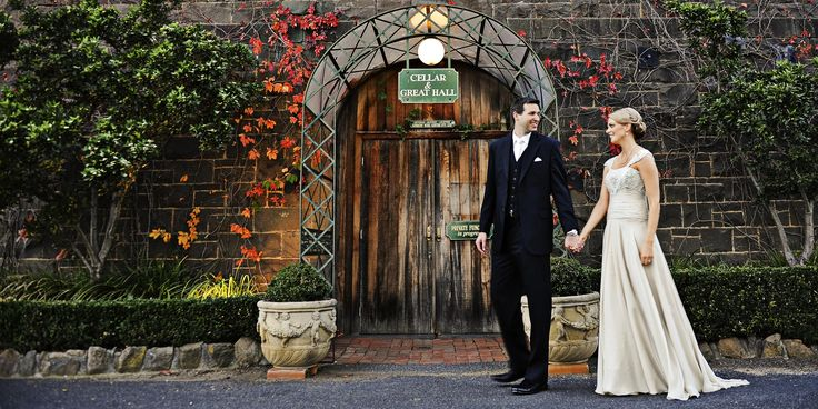 Entrance to our 1863 Bluestone Winery.  Winery Weddings.  Goona Warra Vineyard