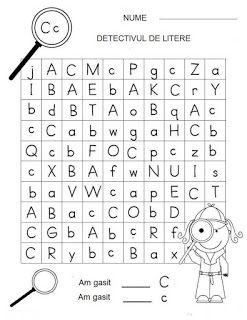 CLASA NOASTRĂ: [ FOTO ] Detectivii literelor
