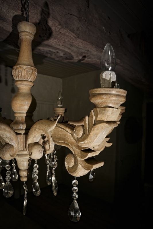 Met, Wooden chandelier and Wood chandelier on Pinterest