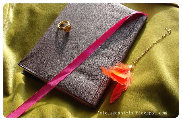 diy tutorial Leather Notebook Cover jak zrobić skórzaną okładkę do zeszytów i notesów diy