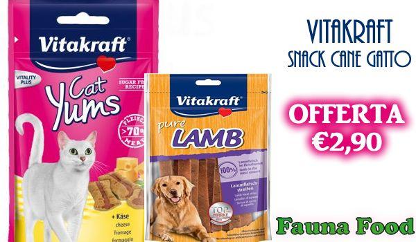 Snack Cane Gatto Vitakraft Da Fauna Food http://affariok.blogspot.it/