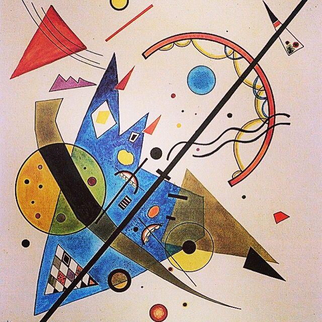 Wassily #Kandinsky, Arch and Point, 1923 www.bauhaus-movement.com