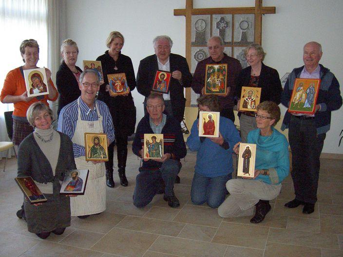 cursus ikoonschilderen in zwolle 2012