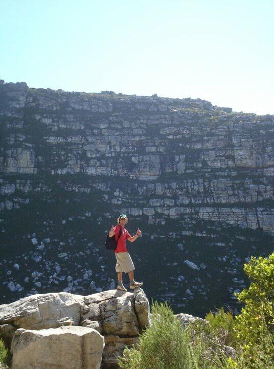 Kalk bay mt - outside Boomslang cave