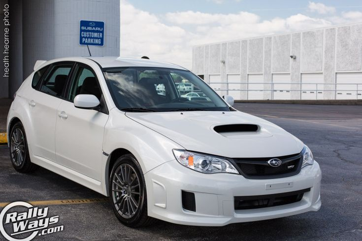 Here's our new resident writer Heath's 2013 Subaru WRX Hatchback in Pearl White. Click through to read about his experience with the Subbie. #subaruwrx #wrx #subbie #rallyways