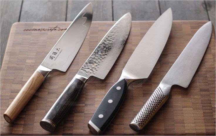 ¿cuáles son los mejores cuchillos de chef del mercado en España? Hemos preparado esta entrada en el post para darte nuestra opinión: http://www.lecuine.com/blog/mejores-cuchillos-chef/