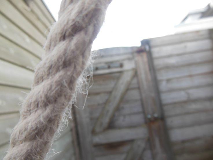 kunstmatige structuur touw van schommel