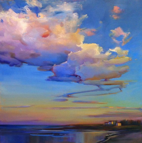 """Late Day Billows,"" by Holly Ready."