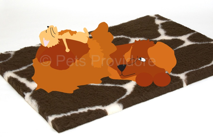 In spite of its luxurious real fur feel, it has tremendous strength and durability because it's made with double strength polyester, this high density of fibres not only provides extreme comfort for your pet, it also means the bedding retains heat by trapping air keeping your pet warm and cosy all year round. Older animals are also able to achieve a higher degree of comfort and mobility as the constant warmth is a great advantage to ageing muscles and joints