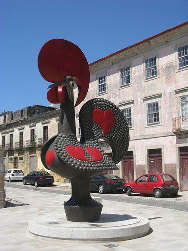 o galo de Barcelos.  Portugal