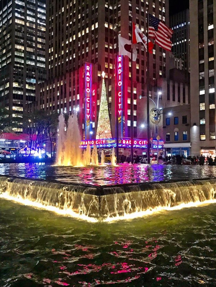 Xmas Tree at the Radio City by @beesbudoir  New York City Feelings  The Best Photos and Videos of New York City including the Statue of Liberty, Brooklyn Bridge, Central Park, Empire State Building, Chrysler Building and other popular New York places and attractions