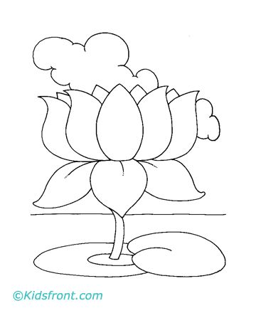 lotus flower coloring pages free - 29 best sketch images on pinterest drawing ideas