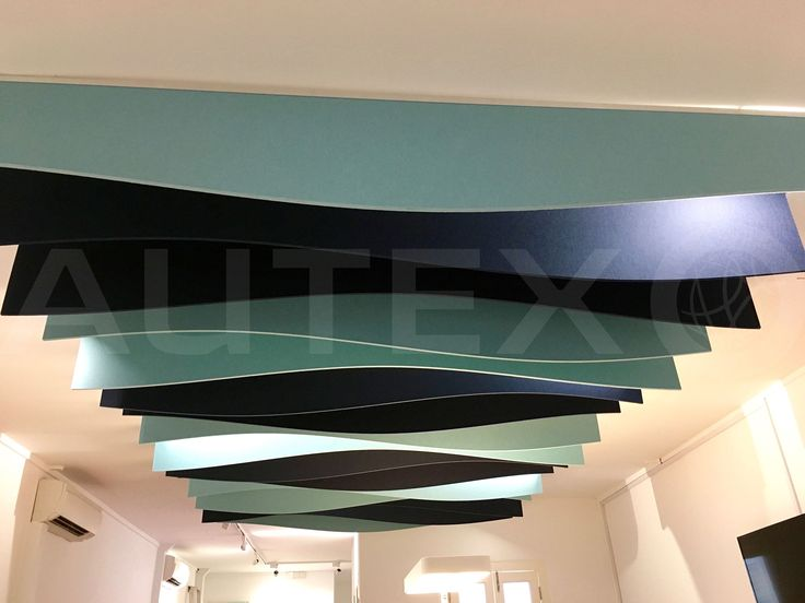Autex Interior Acoustics - Quietspace® Frontier™ - Style: Talus - Colours: Falling Water & Pinacle - JEB Office, Singapore