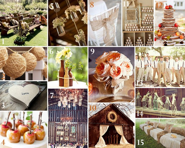 September+Wedding+Color+Schemes | Rustic Wedding Charm   WV WEDDINGS