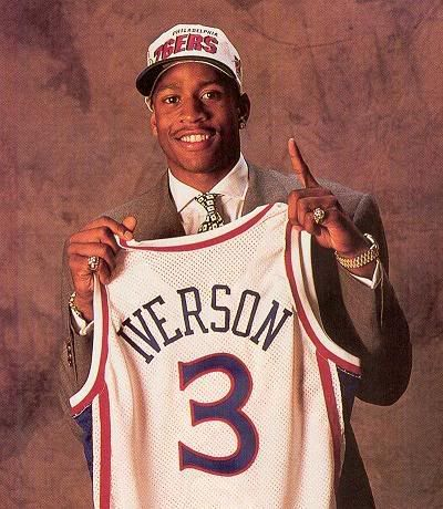 Allen Iverson - 76ers - #3 - The Answer