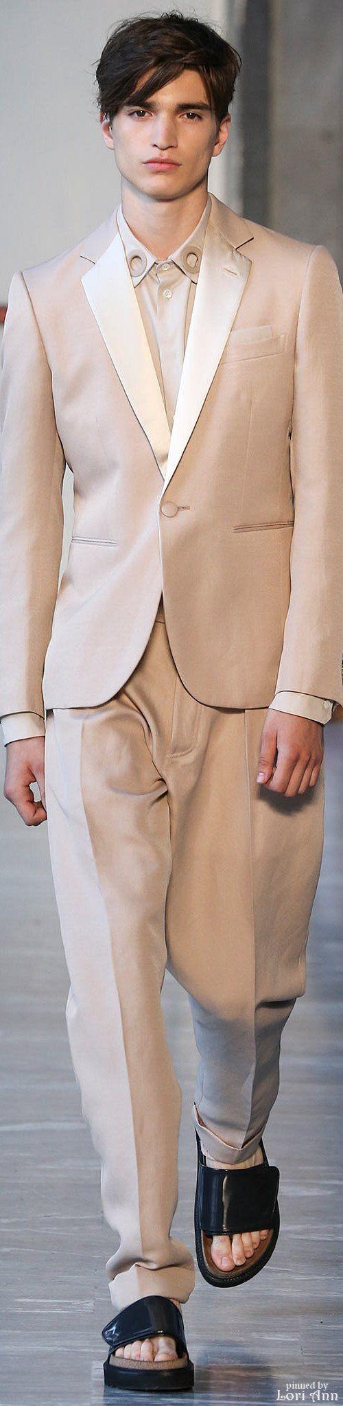 Andrea Pompilio Spring 2015 Menswear