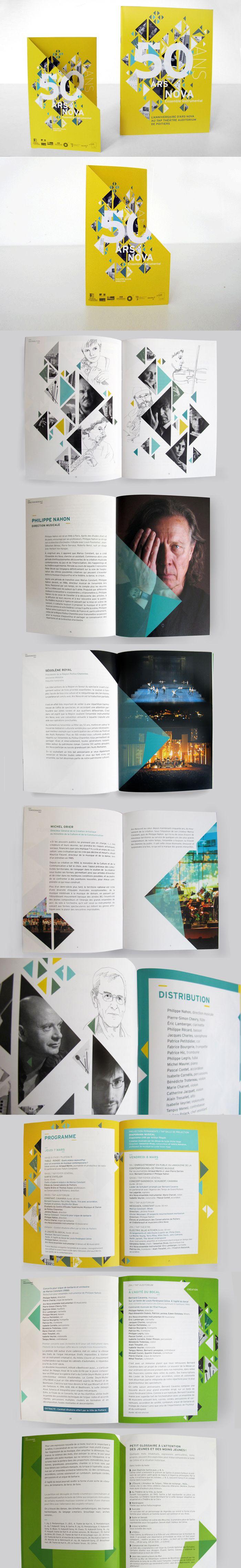 Print - Brochure - Géométrique                                                                                                                                                                                 Plus