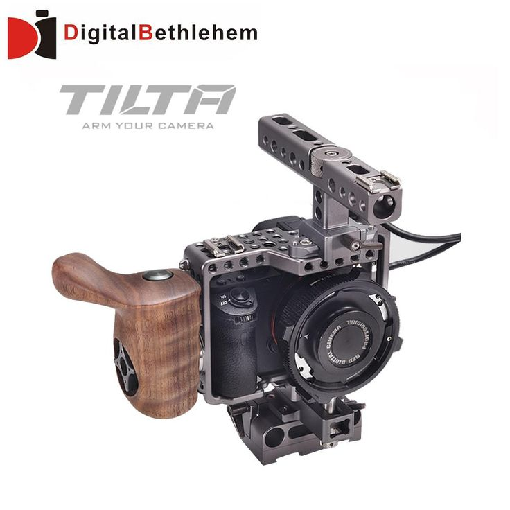 Tilta A7 Rig A7S A7S2 A7R A7R2 Rig Cage + Baseplate + Wooden Handle + Top Handle For SONY A7 series camera Film shooting-in Photo Studio Accessories from Consumer Electronics on Aliexpress.com | Alibaba Group