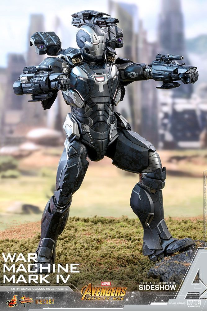 Marvel War Machine Mark Iv Special Edition Sixth Scale Figure By