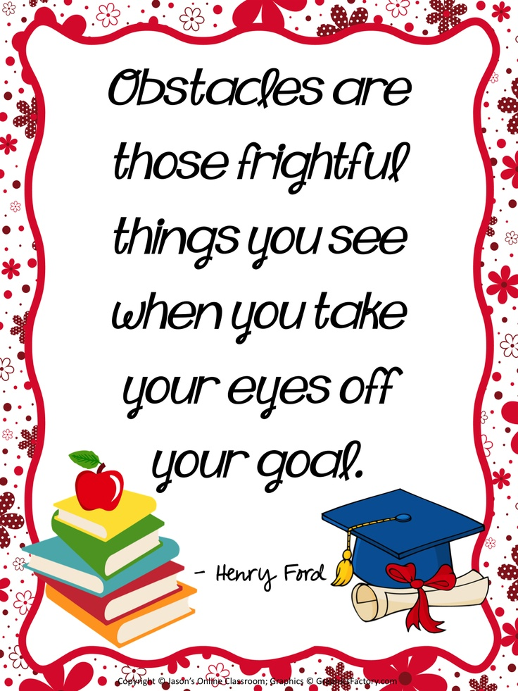 10 FREE Inspirational Quotes Classroom Posters (8.5 x 11)!