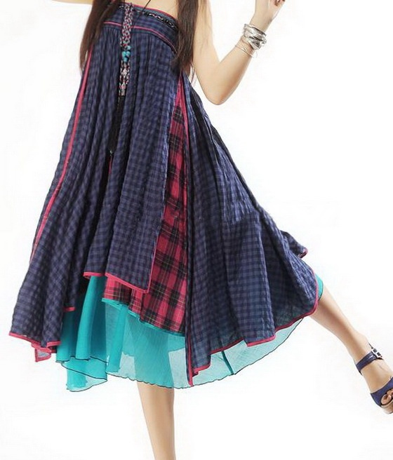Multi Layers Bohemian Dress