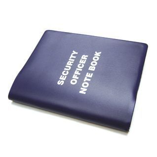 Defence Gifts - Security Note Book, $7.50 (http://www.defencegifts.com.au/security-note-book/)
