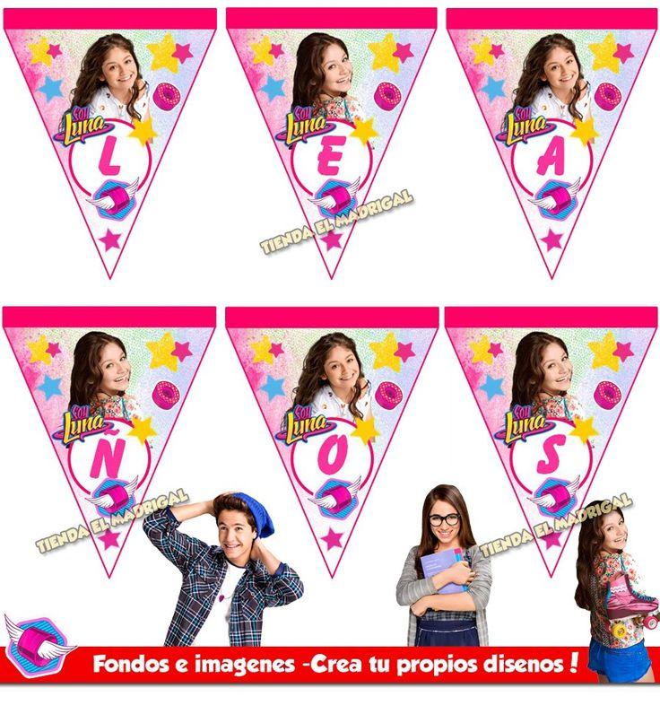 Kit Imprimible Soy Luna Tarjetas Invitaciones + Candy Bar - S/. 18,00 en Mercado Libre