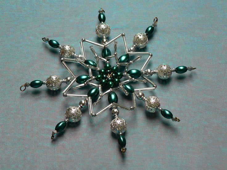 """Hvězda \""""Ojíněné smaragdy\"""" 5"""