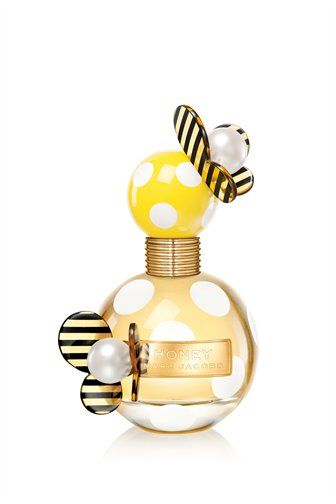 Honey By Marc Jacobs. This light citrsy scent pairs well with shorts and a t-shirt for summer or any casual look. It's like ....well lemons and honey. Quite frankly I would buy any Marc Jacobs fragrance for the packaging alone!