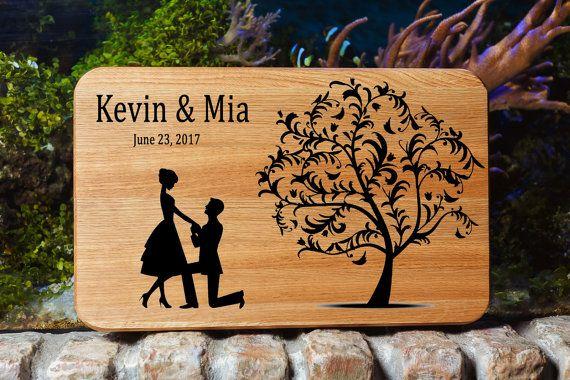 Cutting Board Wedding Gift For Couple Wedding Cutting Board Personalized Cutting Board Wedding Custom Cutting Board Engraved Cutting Board