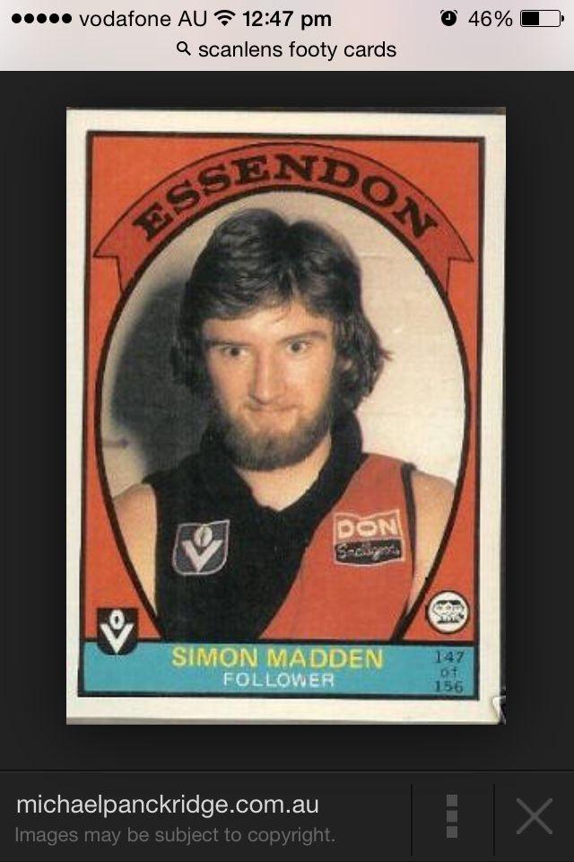 Simon Madden 1978 Scanlans