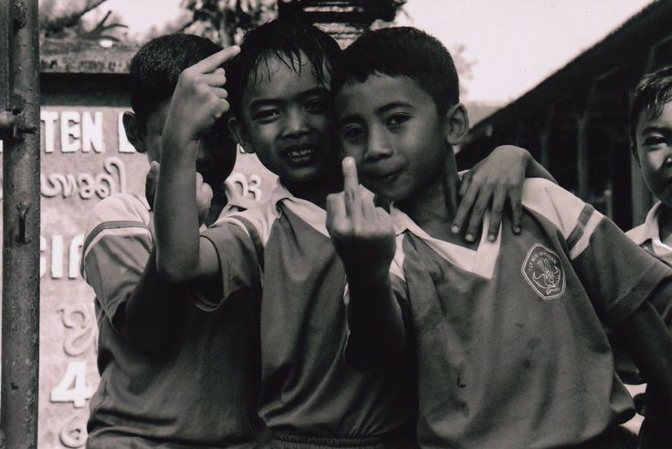 Photo I took in Bali, Indonesia back in 2010. Black & White film in a Canon 1000f