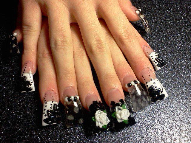 Nail Tip Designs 2013 | Duck Flare Nail Tips - Best 25+ Duck Flare Nails Ideas On Pinterest Flared Nail Designs