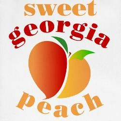 Peaches Decorative Kitchen Accessories |  Sweet_georgia_peach_christmas_stocking?heightu003d250u0026widthu003d250 .