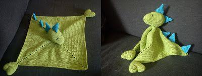 Draksnuttefilt. Mönster på: http://livetpaflorabakken.blogspot.no/2013/07/draksnuttefilt-med-monster.html