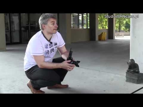 Jak zrobić zdjęcie z jedną lampą błyskową krasnalowi - YouTube