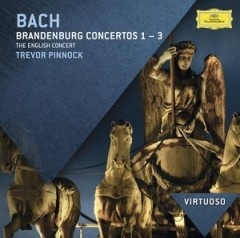 Bach: Brandenburg Concertos Nos.1 - 3 - The English Concert, Trevor Pinnock