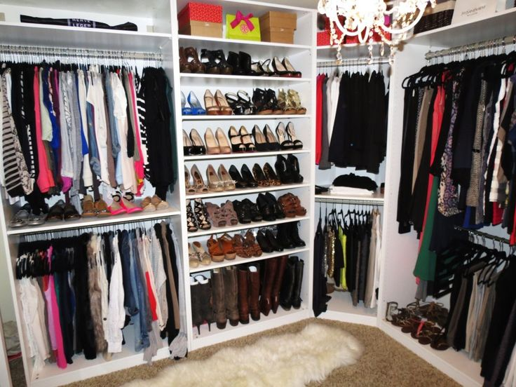 Simple Small Walk In Closet Ideas : Interior Furniture Marvelous White Ikea Walk In Closet With Modish Cloth Hangers And Cute Women Shoes Racks Walk In Closet Ideas Ikea