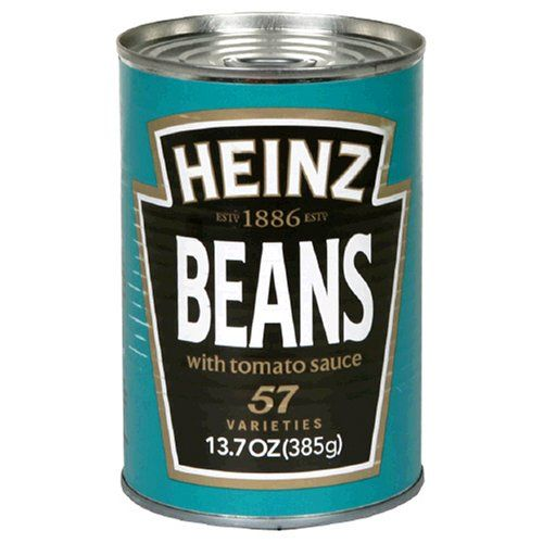 Heinz Beans in Tomato Sauce, 13.7-Ounce Cans (Pack of 12) for only $21.19