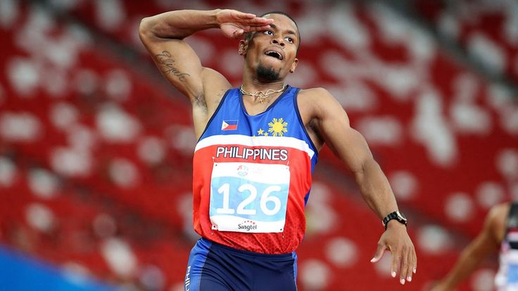 "Eric Cray Wins First Gold Medal For Philippines And Sets New World Record Eric Cray has done it in Rio de Janiero becoming the first athlete from Philippines to win gold medal in the 2016 Olympic Games. Eric Cray completed Men's hurdle 400 metres at 43:56 seconds. A new world record. ""I'm very happy"" he told reporters. ""To be honest I"
