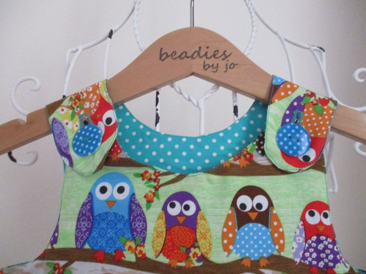 A personal favourite from my Etsy shop https://www.etsy.com/uk/listing/454510066/reversible-dress-girls-pinafore-owl