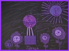 Harold and the Purple Crayon Lesson Plan - Art and Language Arts - KinderArt