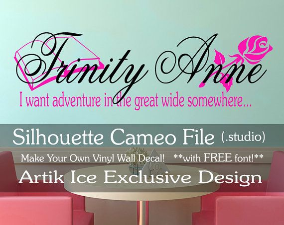 Best Images About DIY Hobby Craft Vinyl Supplies On Pinterest - How to make vinyl wall decals with silhouette cameo