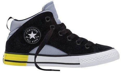 Converse Boys' Chuck Taylor All Star Pepper Suede Mid Sneaker
