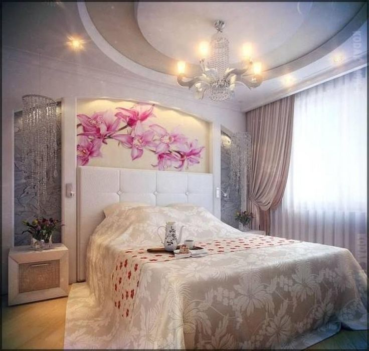Романтические спальни фото.