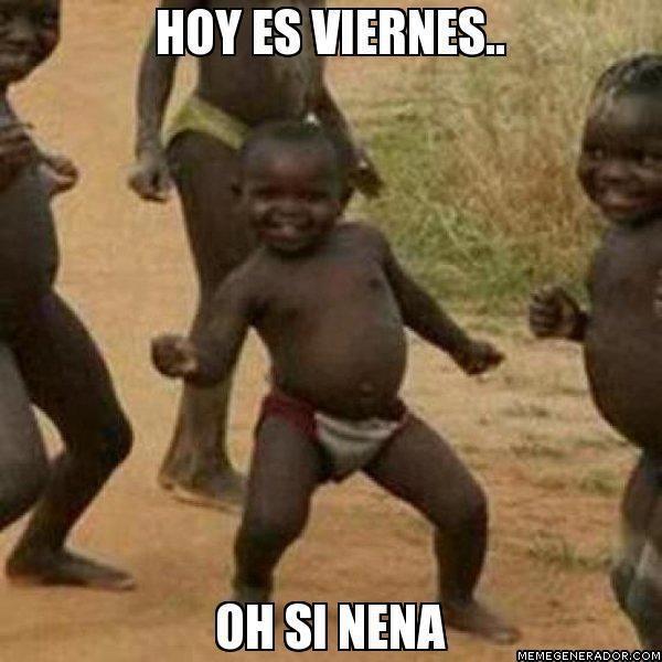 Hoy es viernes #imagendeldia - Cachicha.com