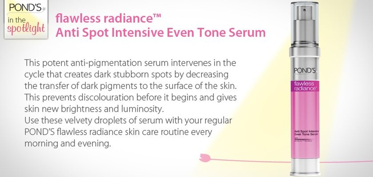 flawless radiance Anti Spot Intensive Even Tone Serum #skin