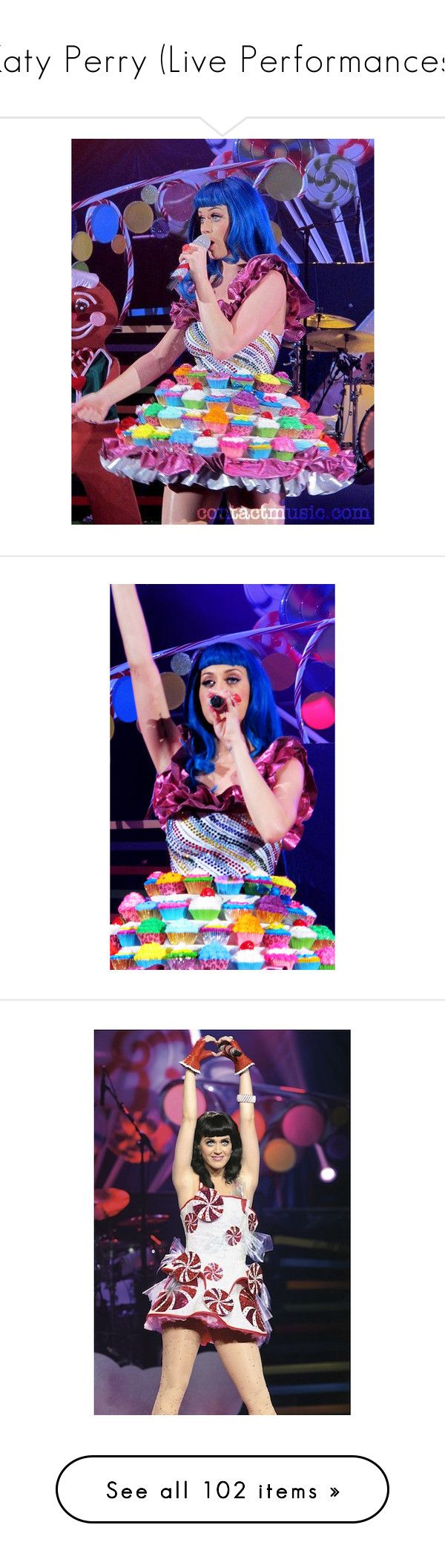 """""""Katy Perry (Live Performances)"""" by nataliemcmahan ❤ liked on Polyvore featuring katy perry, celebrity, models, pictures, bright, latex, accessories, b. ella, music and costumes"""